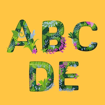 Abcde tropical effect