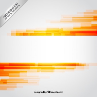 Abstract background dans les tons orange