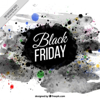 Abstract black friday fond d'encre