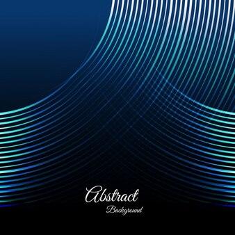 Abstract blue lignes de fond
