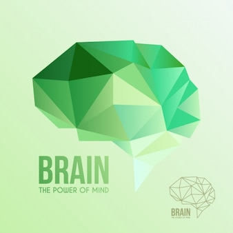 Abstract design cerveau de fond