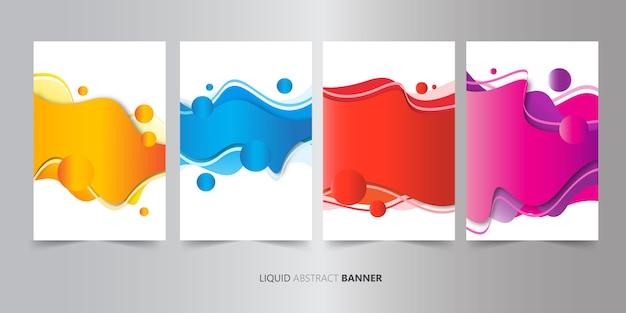 Abstract design de la couverture