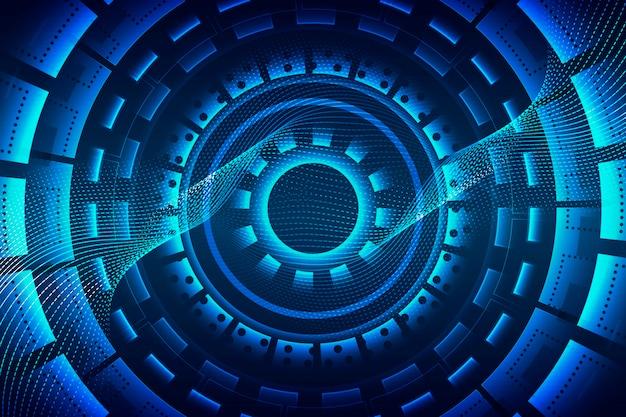 Abstract futuristic technology contexte