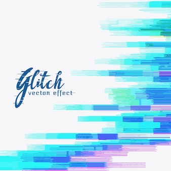 Abstract glitch vector background design