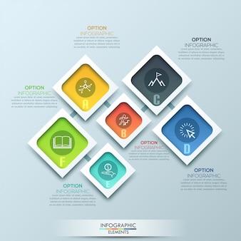 Abstract illustration numérique 3d infographique
