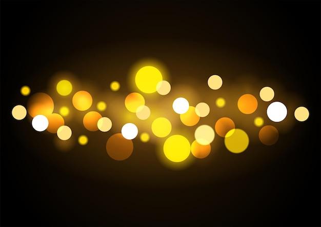 Abstract vector background de lumières bokeh en eps10