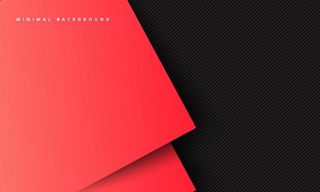Abstractbbackground avec fond numérique d'ombre profonde concept de page de destination moderne