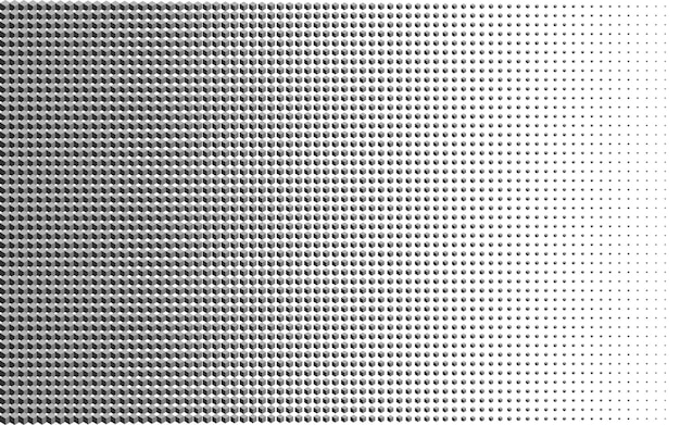 Abstraction géométrique avec une cellule de cube.
