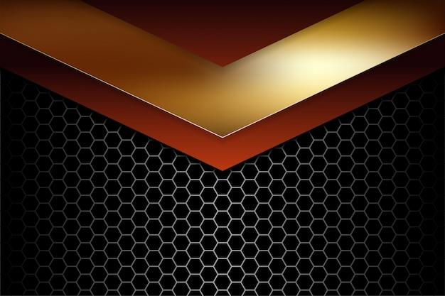 Abstrait 3d futuriste géométrique dégradé
