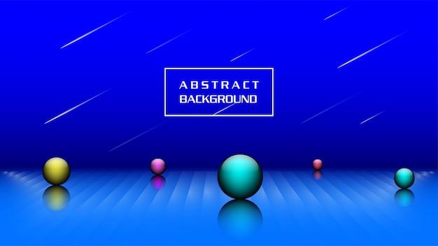 Abstrait 3d moderne