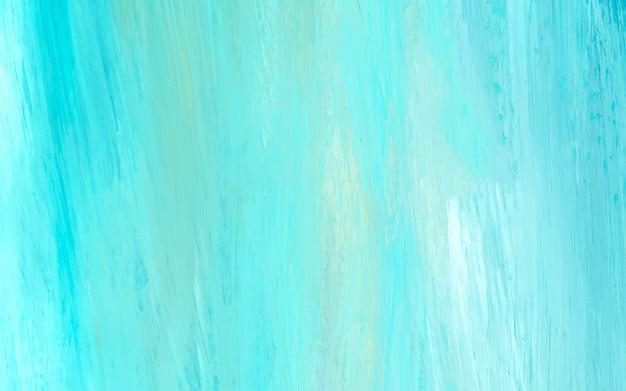 Abstrait acrylique bleu