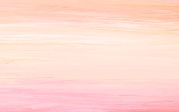 Abstrait acrylique, orange et rose