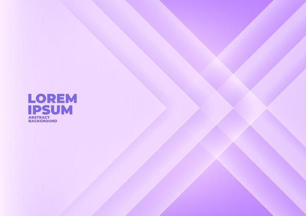 Abstrait angle flèche chevauchent fond violet