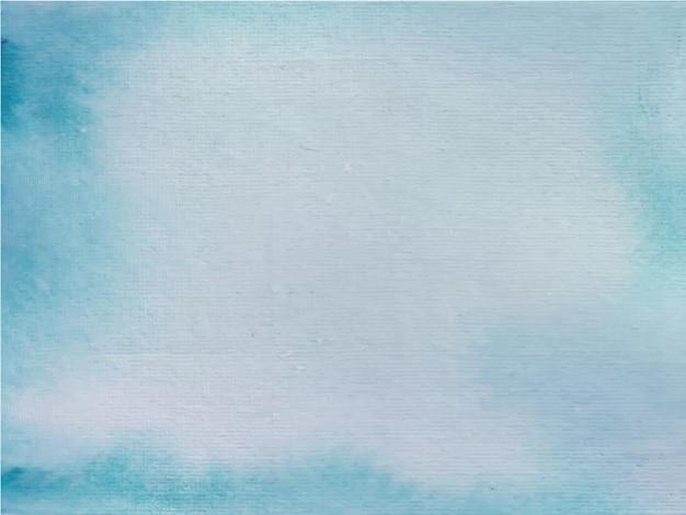 Abstrait aquarelle bleu peint