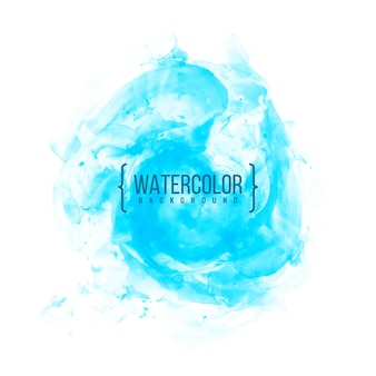 Abstrait aquarelle bleu