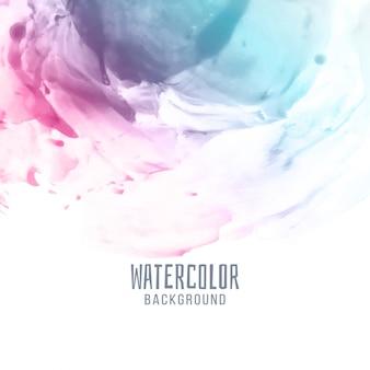 Abstrait aquarelle coloré élégant