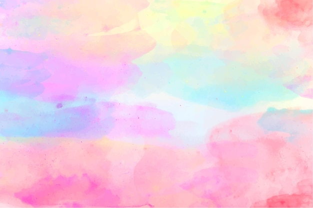 Abstrait aquarelle coloré