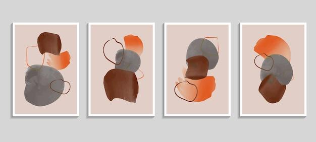Abstrait aquarelle avec des éléments de tache