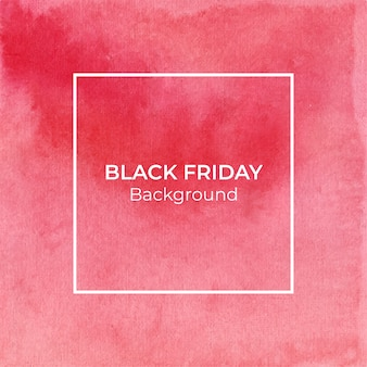 Abstrait aquarelle rouge blackfriday