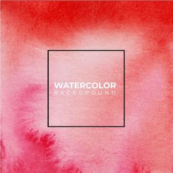 Abstrait aquarelle rouge et rose.