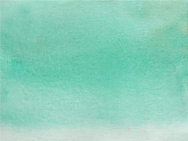 Abstrait aquarelle vert clair. c'est une main dessinée.