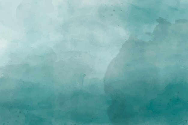 Abstrait aquarelle vert