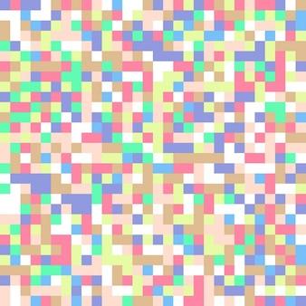 Abstrait arrière-plan de carrés pastel