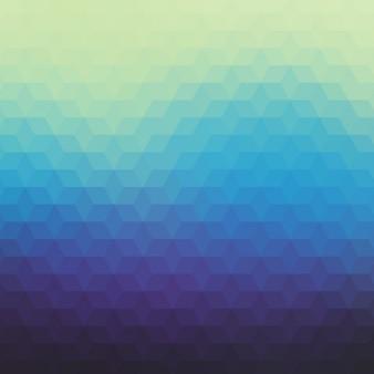 Abstrait arrière-plan dans les différents tons bleus