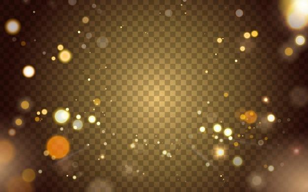 Abstrait arrière-plan de l'élément de lumière floue