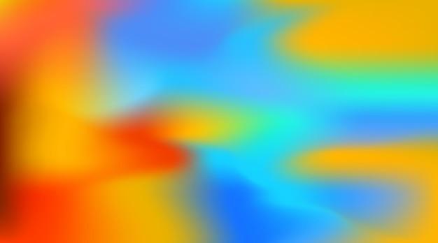 Abstrait arrière-plan flou coloré illustration vectorielle multicolore