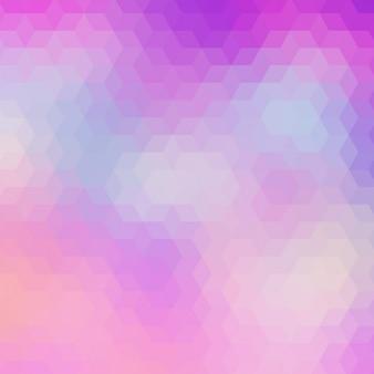 Abstrait arrière-plan géométrique dans des tons rose et violet