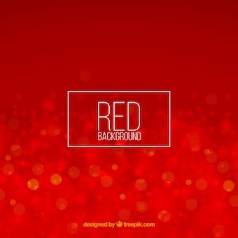 Abstrait arrière-plan rouge bokeh