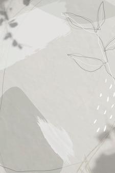 Abstrait arrière-plan social de memphis ton blanc