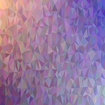 Abstrait arrière-plan triangulaire chaotique - graphique vectoriel polygonal à partir de triangles colorés