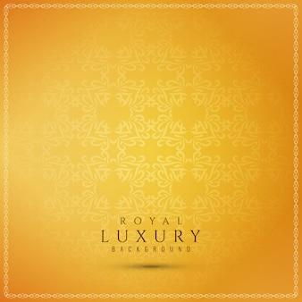Abstrait beau luxe jaune