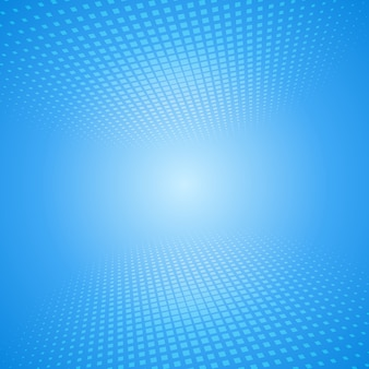 Abstrait blanc et bleu avec des carrés