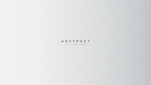 Abstrait blanc classique avec forme géométrique