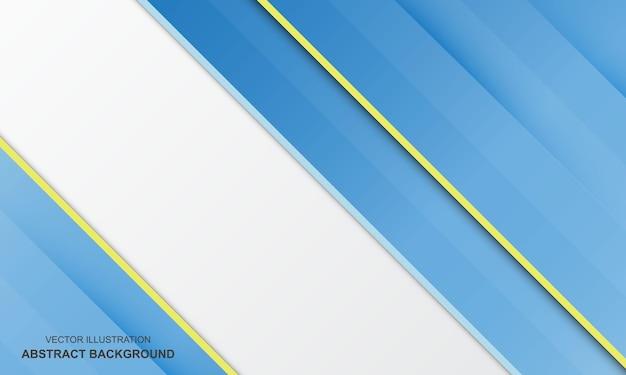 Abstrait blanc avec la couleur bleue