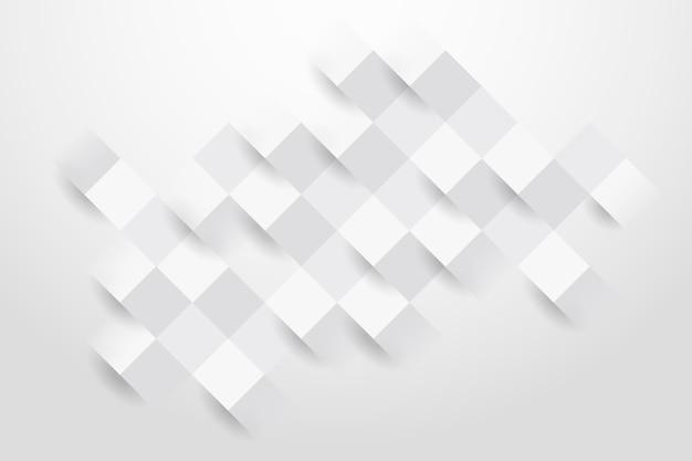 Abstrait blanc dans un style papier