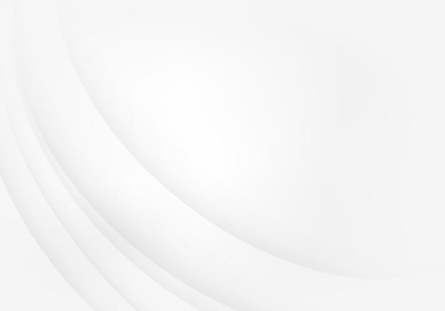 Abstrait blanc avec des lignes lisses