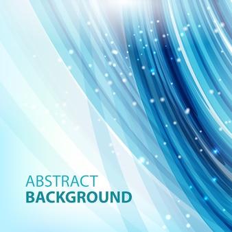 Abstrait bleu. abstrait pour les présentations commerciales. vecteur