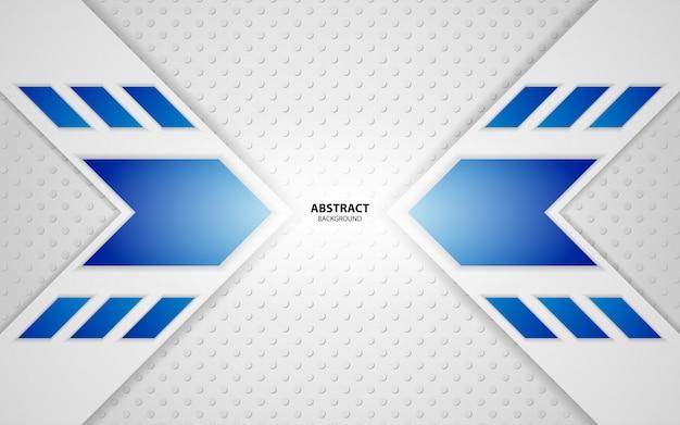Abstrait bleu blanc technologie