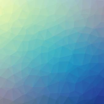Abstrait bleu clair polygonale