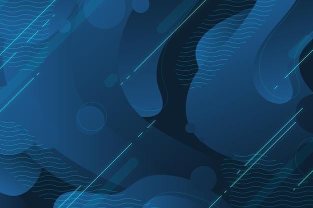 Abstrait bleu classique moderne