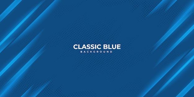Abstrait bleu classique ondulé.
