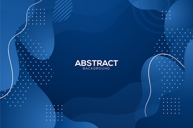 Abstrait bleu classique avec des points