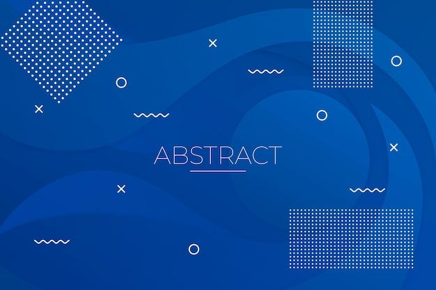 Abstrait bleu classique