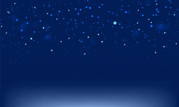 Abstrait bleu foncé flou