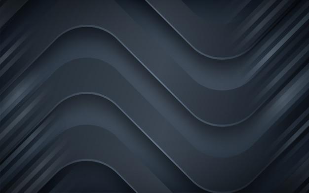 Abstrait bleu foncé