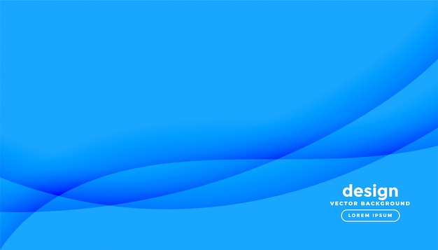 Abstrait bleu avec des formes ondulées